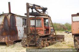 Тракторный кран МТТ-12 в карьере №12 АО Кварцит в Воскресенском районе