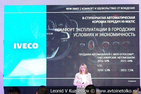 Новый IVECO DAILY - премьера в России